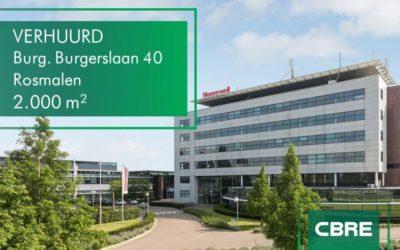 Time Equities verhuurt 2000 m² aan bedrijfscateraar Vitam aan de Burgemeester Burgerslaan 40 in Rosmalen