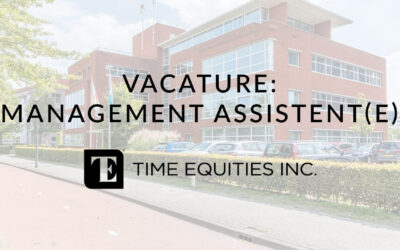Will you be the new Management Assistant(s) at Time Equities?