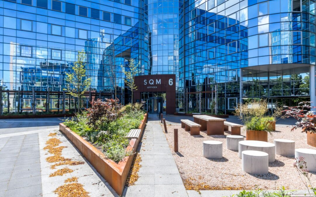 Time Equities verhuurt ca 1.631 m² kantoorruimte aan Menken Orlando in SQM Voorburg